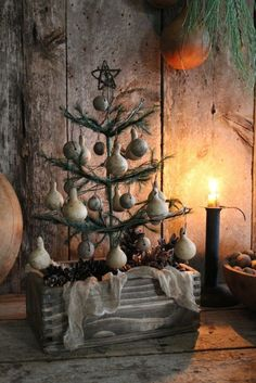 Rustic style Christmas ~