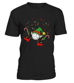 Dancing Volleyball Christmas Elf