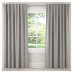 "Blackout Zuma Curtain Panel Gray (50""x120""), Grey"