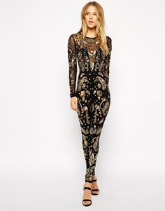 ASOS+Premium+Embellished+Jumpsuit - wow what a show stopper!