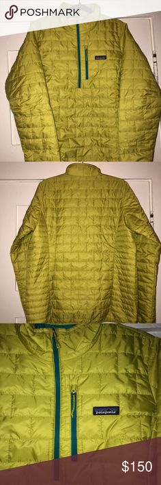 Women's Patagonia Nano Puff Pullover Fluid Green NWT Women's Patagonia Nano Puff Pullover Fluid Green Size: XL Color: Fluid Green Brand: Patagonia New With Tags - perfect condition as it has never been worn. I just purchased a month ago but already have another Patagonia in this color as well as another nano puff in a different color. Original price was $169 plus tax. Price is firm. I made a mistake on my first listing so this is a re-post but same jacket Patagonia Jackets & Coats Puffers