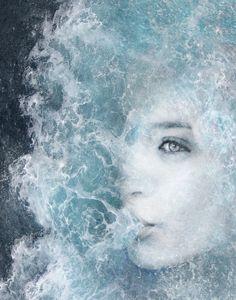    SHE WATER    by MATTEO GALLINELLI, via Behance