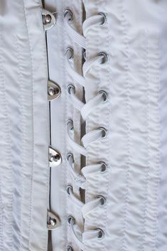 Authentic 'Gossard' vintage firm control lace up OB Girdle - silky noisy nylon and elastane open bottom girdle Strumpfgürtel. Gossard, Girdles, Corsets, 1960s, Chef Jackets, Lace Up, Etsy, Vintage, Fashion