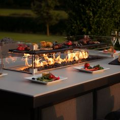 New to our range, the Fire Pit System bar sets. Integrated across our outdoor fabric furniture range. Fire Pit Dining Set, Outdoor Fire Pit Table, Gas Fire Pit Table, Fire Pit Backyard, Outdoor Dining, Fire Pit Patio Set, Garden Fire Pit, Backyard Patio, Pool Patio Furniture