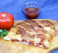 Easy Stromboli using refrigerated pizza crust!