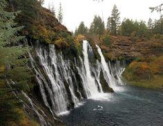 Burney Falls, Mount Shasta