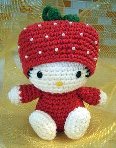 Mini Hello Kitty Amigurumi : 1000+ images about Hello Kitty haken on Pinterest Hello ...