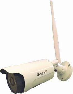 BRAVO CAPTAIN TELECAMERA DA ESTERNO WIFI SENZA FILO SENSORE 1,'0 MP SD 16GB…