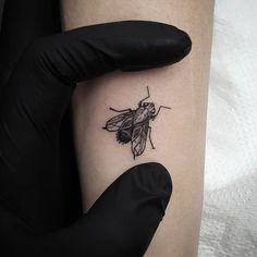 Αποτέλεσμα εικόνας για fly insect tattoo