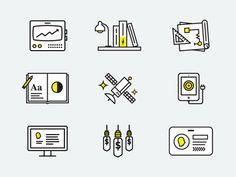 Electrik Icons