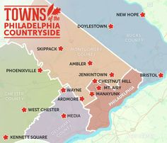 Towns of the Philadelphia Countryside