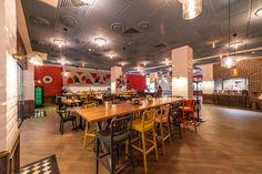 Hugo Restaurant, The Office, Conference Room, Bar, Table, Furniture, Home Decor, Cosmopolitan, Homemade Home Decor