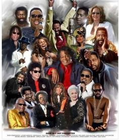 Black Art Depot Today - Your Source for News About African American Art Teena Marie, Rick James, Luther Vandross, Sam Cooke, Marvin Gaye, James Brown, Black Love Art, Black Is Beautiful, Girl Bands