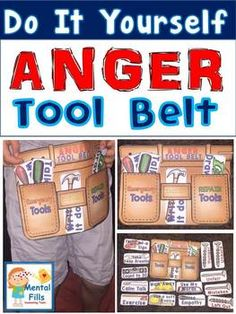 Do It Yourself ANGER TOOL BELT for your coping skills tool box