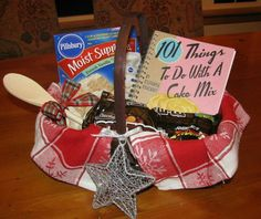 Gift / raffle basket idea... baking