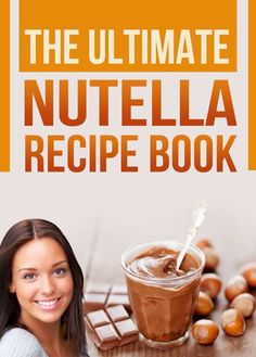 The Ultimate Nutella Recipe Book: Delicious Recipes for Nutella (Chocolate Hazelnut Spread) Cake, Cookies, Crepes and other Gourmet Desserts.    Impress your friends with 30 creative, simple, and delectable recipes using the world's favorite chocolate hazelnut spread: Nutella!   Included are gourmet Nutella recipes with full-color photos (black & white on classic Kindle), as well as a brief background behind the history and prowess of Nutella. Learn what is Nutella and how they make it. nutella recip