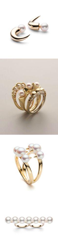 TASAKI. Modern twist on pearls.