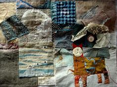 Artist Jude Hill - specialising in Slow Cloth / Spirit Cloth