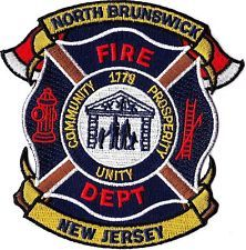 North Brunswick Fire Dept. New Jersey NJ patch NEW