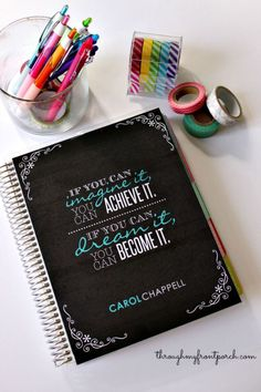How I Use My Erin Condren Life Planner To Keep Myself Organized