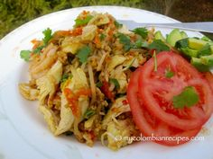 Chinese rice (colombian style)