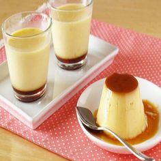 Create Eat Happy :) Kawaii Japanese Recipes and Cooking Hacks: How to Make Custard Pudding (Crème Caramel / Flan). Creme Caramel, Caramel Flan, Sauce Caramel, Caramel Recipes, Creme Custard, Custard Pudding, Pudding Recipes, Dessert Recipes, Egg Desserts