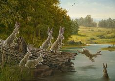 The Swimming Hole  by Robert Bissell   2009