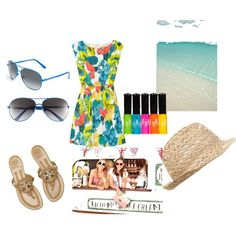 Summer Daze, created by mhrwar on Polyvore