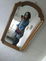 Yana - New Yorker Dress - Woman in the mirror