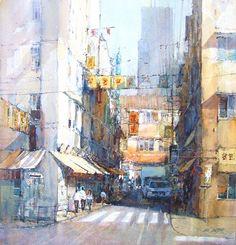 Ian Ramsay Watercolors: June 2011