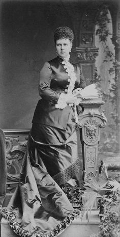 Her Imperial and Royal Highness Marie Alexandrovna of Russia, Duchess of Edinburgh and later also of Saxe-Coburg and Gotha.