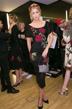 Dolce & Gabbana Fall 2015 Backstage