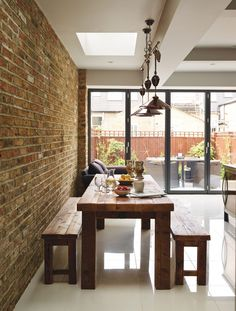 Converting two Victorian flats into a family home Edwardian House, Victorian, Kitchen Units, Kitchen Ideas, House Extensions, Finding A House, Living Room Kitchen, One Bedroom, Ground Floor