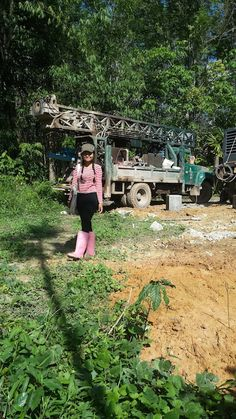 Drilling a Water Well in Thailand