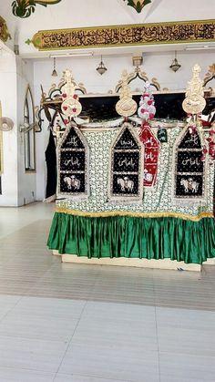 Shrine of Hazrat ABBAS E BAWAFA a.s. {Salwat} Dariya Wali Masjid, at Machchhi Bhavan, Lucknow, U.P.