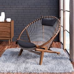 Classic Furniture, Cool Furniture, Modern Furniture, Furniture Design, Furniture Online, Rustic Furniture, Furniture Projects, Macrame Chairs, Papasan Chair