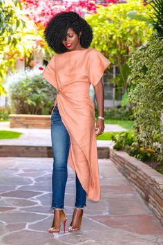 Page 3 – Daily outfits from Folake Kuye Huntoon Dress Over Pants, Dress Up Jeans, Classy Outfits, Chic Outfits, Fashion Outfits, Daily Fashion, Love Fashion, Style Pantry, African Attire