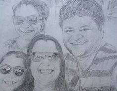 A family portrait of my pastor and his family for his 50th bday. #love #them #to #death #!!!!!!!
