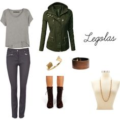 """Legolas (LOTR)"" is what I called this outfit that I put together on Polyvore. Go check it out ^^"