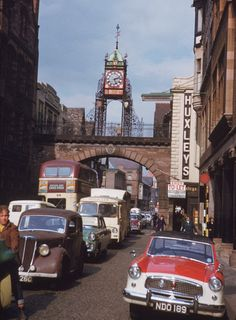 Chester England 1961