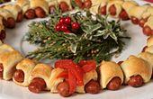 Lit'l Smokies® Holiday Appetizer Wreath