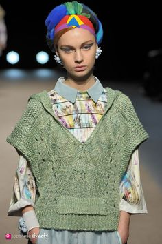 Spring/Summer 2015 Collection of Japanese fashion brand YUMA KOSHINO