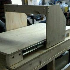 CNC Gantry Using Drawer Slides