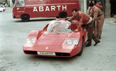 Abarth service Truck and Abarth 2000 SP