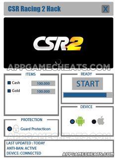 CSR Racing 2 Hack & Cheats for Cash & Gold  #CSRRacing2 #Popular #Racing http://appgamecheats.com/csr-racing-2-hack-tips-cheats/