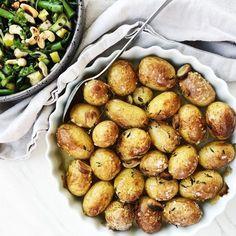 Græske ovnbagte kartofler
