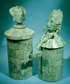 Vasos de jade,cultura maya  Museo Nacional de Antropologia
