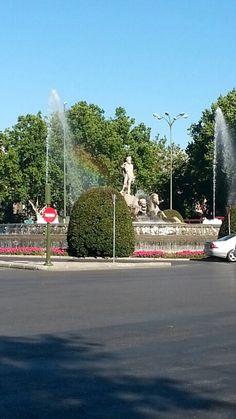 Neptune Fountain, Madrid, Spain