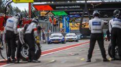 DTM 2015 Moscow Raceway - Mercedes / Pit Stop