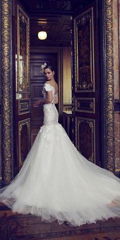 Nurit Hen 2016 Mermaid Wedding Dress / http://www.himisspuff.com/mermaid-wedding-dresses/8/